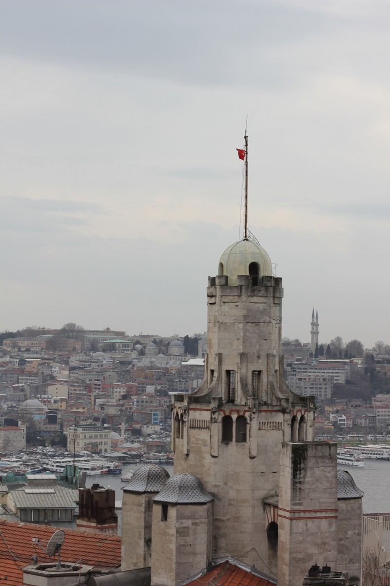Istanbul roof tops (from my roof terrace)