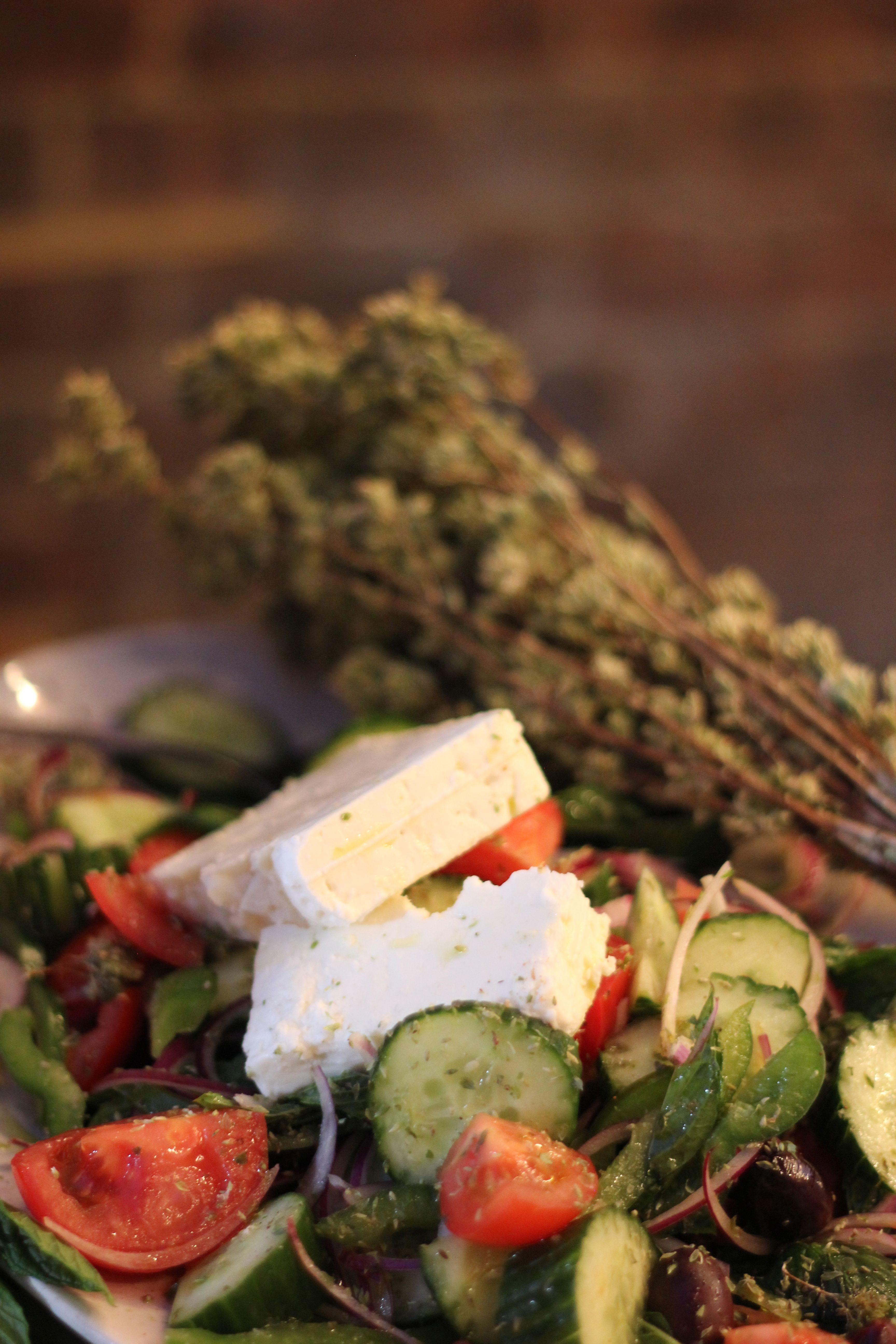 Jamie's Greek salad