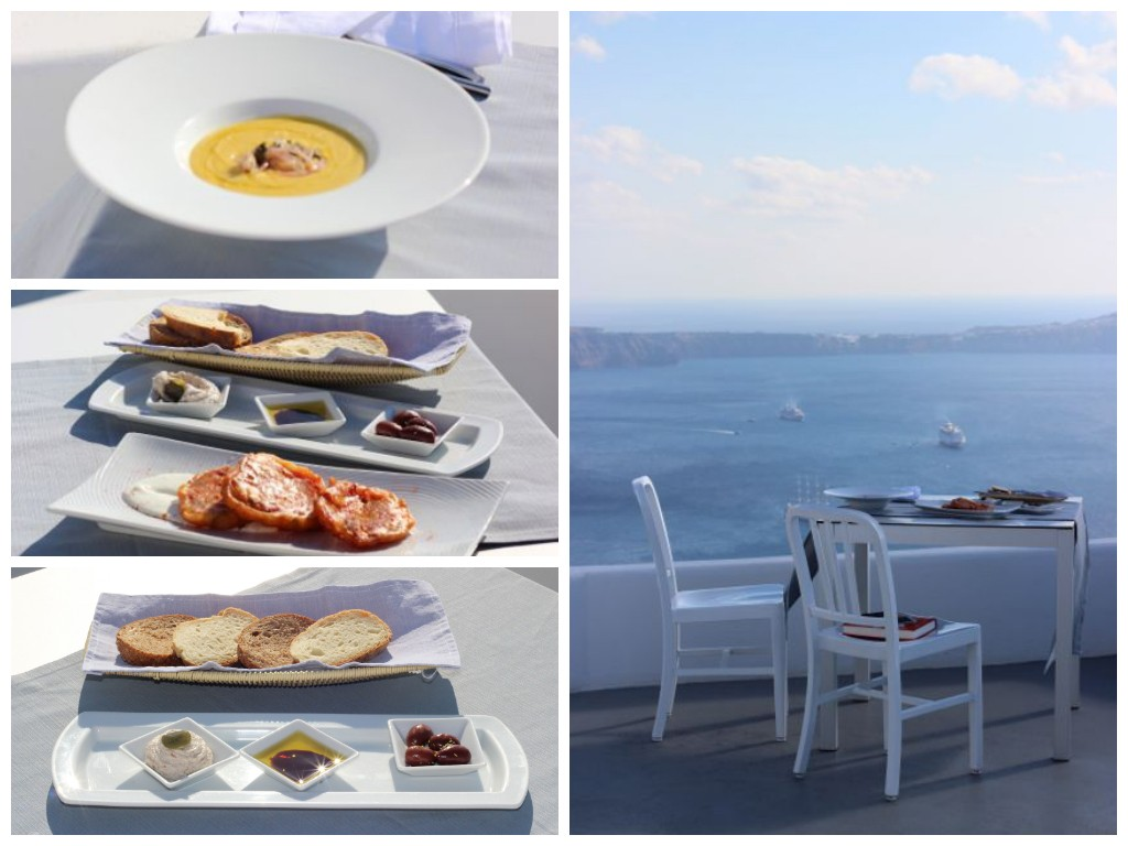 Grace Santorini Lunch - it is very hard to leave the sanctuary that Grace is once you get there, so I opted to dine there and it was a good decision!