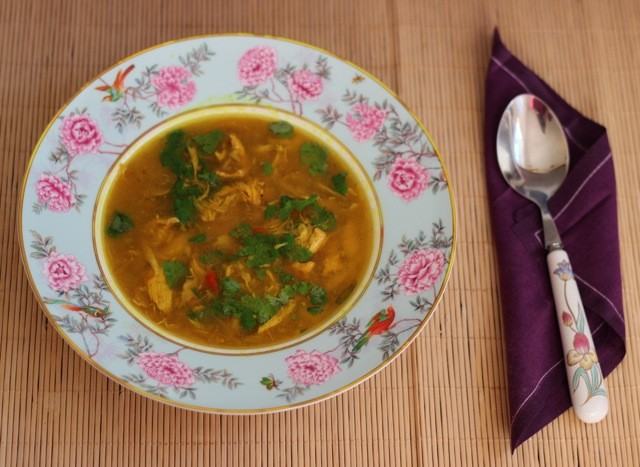 Chicken soup for what ails you - but not as you know it! [Recipe]
