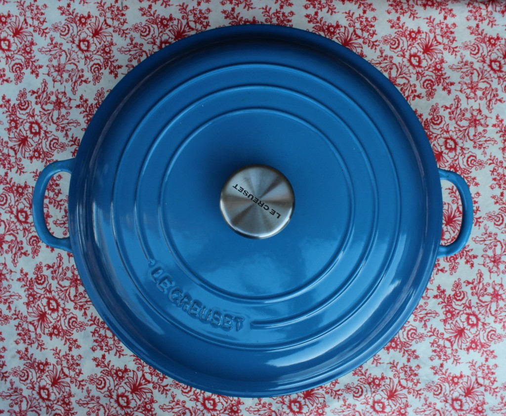 Le Creuset Pot in  Marseille Blue